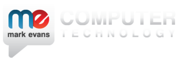 Mark Evans Computer Technology logo